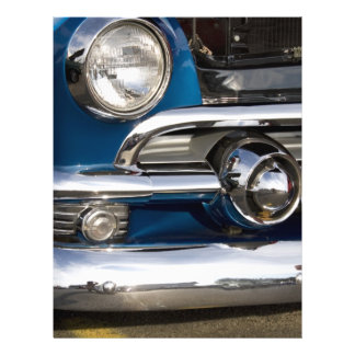 Classic Car Chrome Closeup 21.5 Cm X 28 Cm Flyer