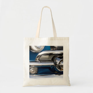 Classic Car Chrome Closeup Budget Tote Bag