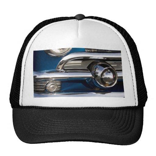 Classic Car Chrome Closeup Hats
