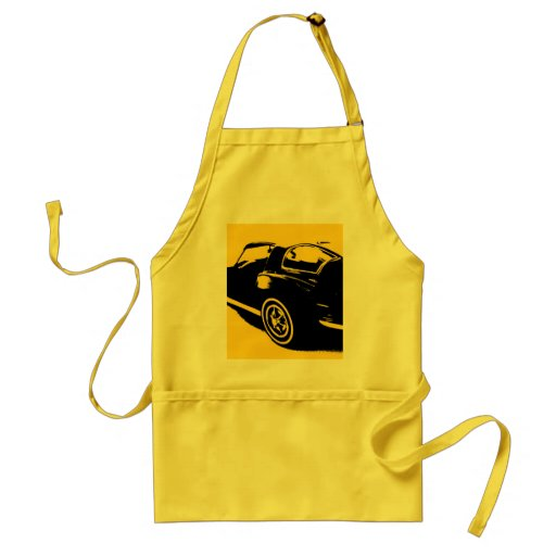 Classic Car Cooking Apron