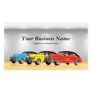Classic Car Dealer Showroom - Unique Automotive Pack Of Standard Business Cards