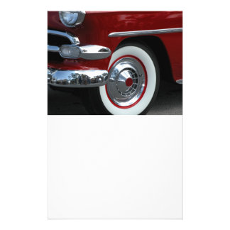 classic car design personalized flyer