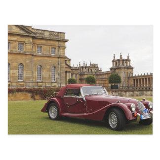 Classic car exhibition, Blenheim Palace Postcard