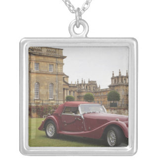 Classic car exhibition, Blenheim Palace Silver Plated Necklace