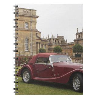 Classic car exhibition, Blenheim Palace Spiral Notebooks