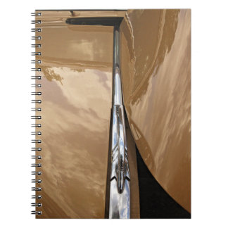 Classic car hood photo notebook