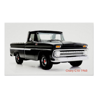 Classic car image for poster