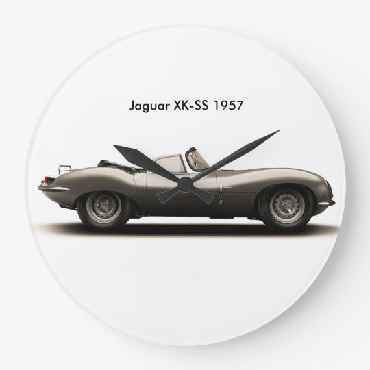 Classic car image for Round-Wall-Clock Large Clock