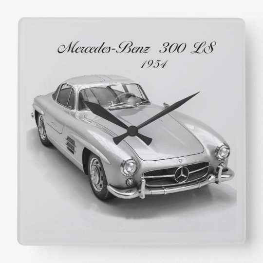 Classic Car image for Square Wall Clock