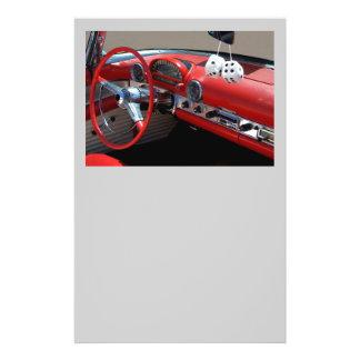 classic car interior 14 cm x 21.5 cm flyer
