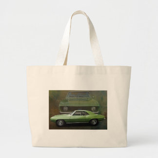 Classic car large tote bag