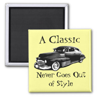 Classic Car Fridge Magnet