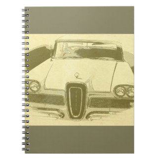 Classic Car Notebook