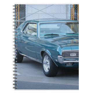 Classic car notepad notebooks