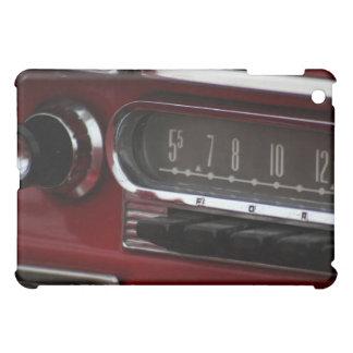 Classic Car Radio Dashboard Closeup Cover For The iPad Mini