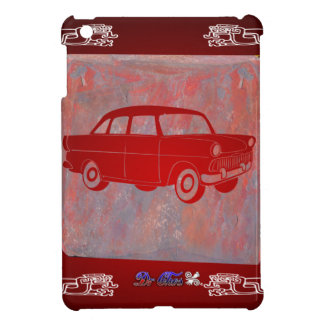 CLASSIC CAR RED CUSTOMIZABLE PRODUCTS iPad MINI CASES