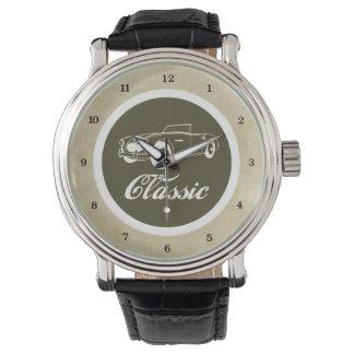 Classic Car Retro Automobile 1950s Convertible Watches
