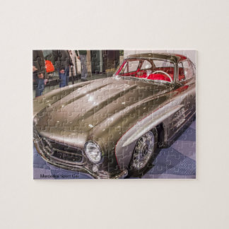 Classic Car Series - Mercedes Sport Car Jigsaw Puzzle