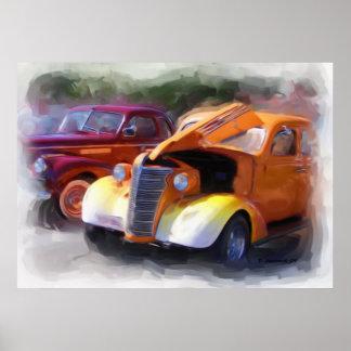 Classic Car Show Print