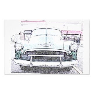 Classic Car Stationery