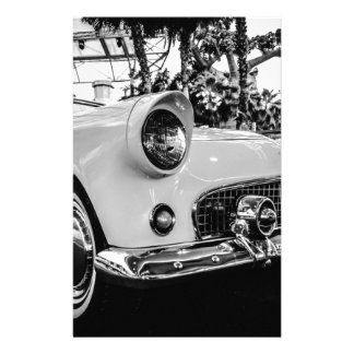 Classic Car Stationery Paper