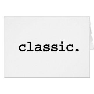 classic. card