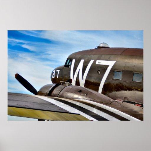 Classic Cargo Plane Posters