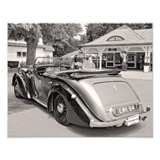 Classic Cars at Saratoga Photo Print