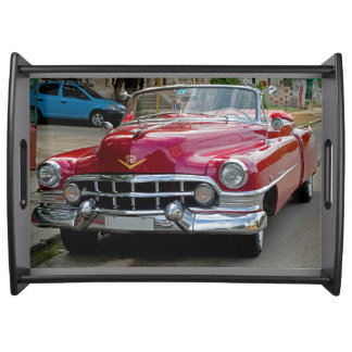 Classic Cars of Cuba Serving Tray
