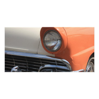 Classic Cars Photo Greeting Card