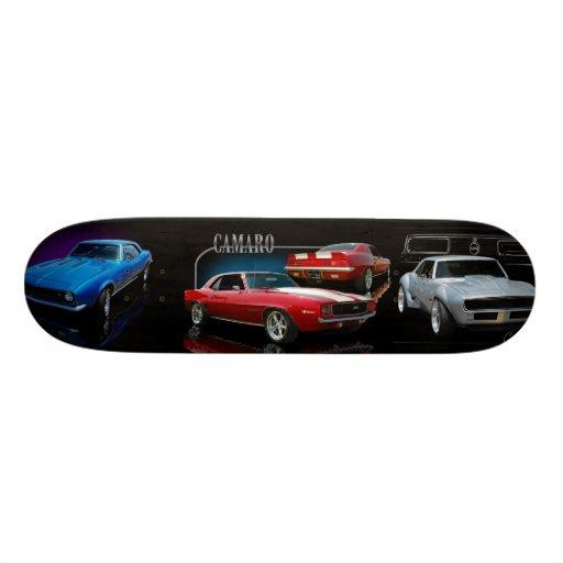 classic cars skateboards