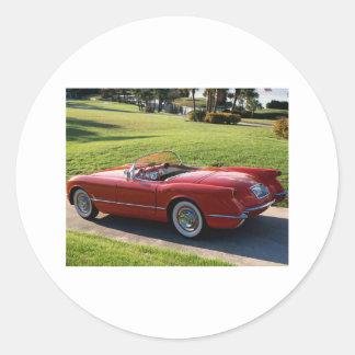 classic cars sticker