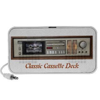 Classic Cassette Deck Doodle  Speaker