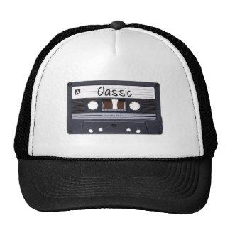 Classic Cassette Tape Hats