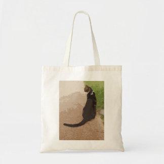 Classic Cat Pose Tote Bags