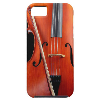 Classic cello on black iPhone 5 case