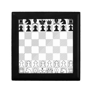 Classic chess board small square gift box