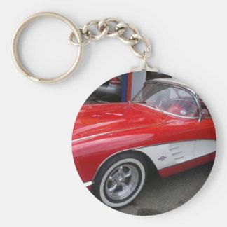 Classic Chevrolet Corvette Key Ring