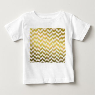Classic Chevron Gold Metal Pattern T Shirts