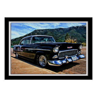 Classic Chevy by Lillian Photography Poster