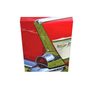 Classic Chevy Car Design Gallery Wrapped Canvas