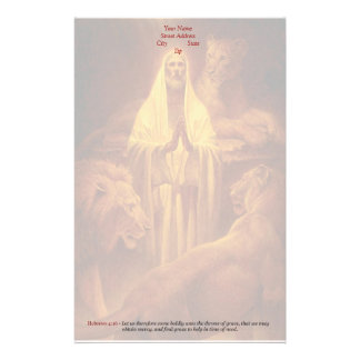 Classic Christian Stationary - Throne of Grace,... Stationery Paper