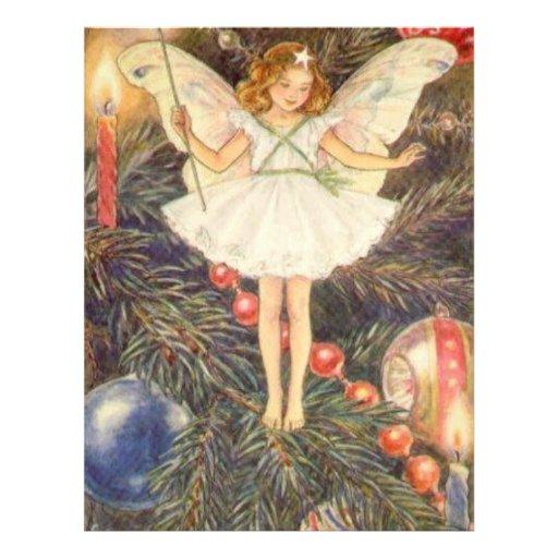 Classic Christmas Angel Flyer Design
