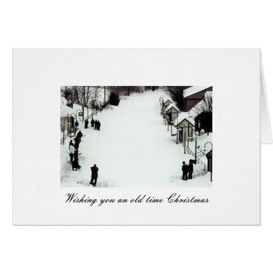 Classic Christmas Greeting Card