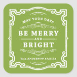 Classic Christmas | Holiday Gift Tag Labels