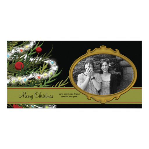 Classic Christmas Picture Card