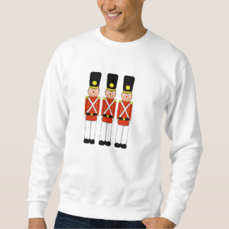 Classic Christmas Soldier Mens Sweatshirt
