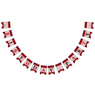 Classic Circus Color Birthday Party Bunting