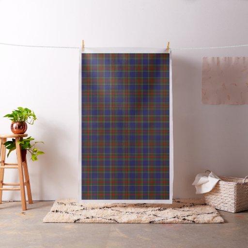 Classic Clan MacBeth Tartan Plaid Fabric