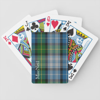 Classic Clan MacNeil Tartan Plaid Playing Cards